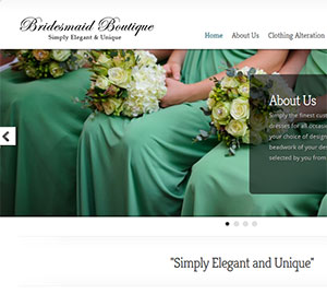 <span>Bridesmaid Boutique website design</span><i>→</i>